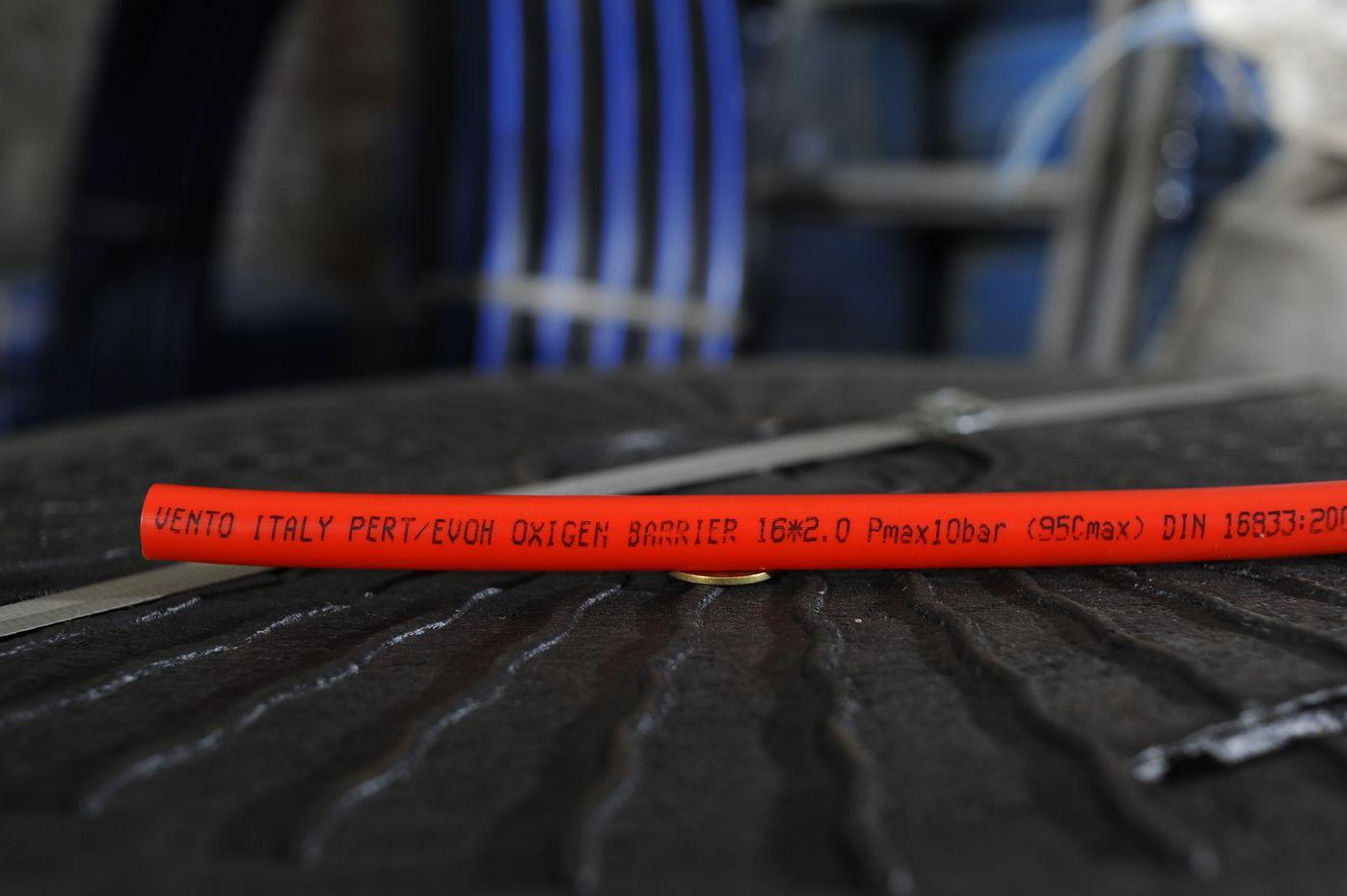 Pipe for underfloor heating image