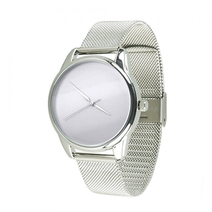 ZIZ Minimalism Designer Wristwatch, Stainless Steel/Eco Leather Straps image