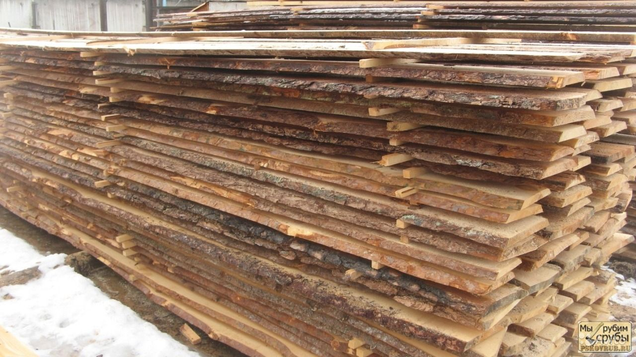 Unedged Timber, Pine Board image