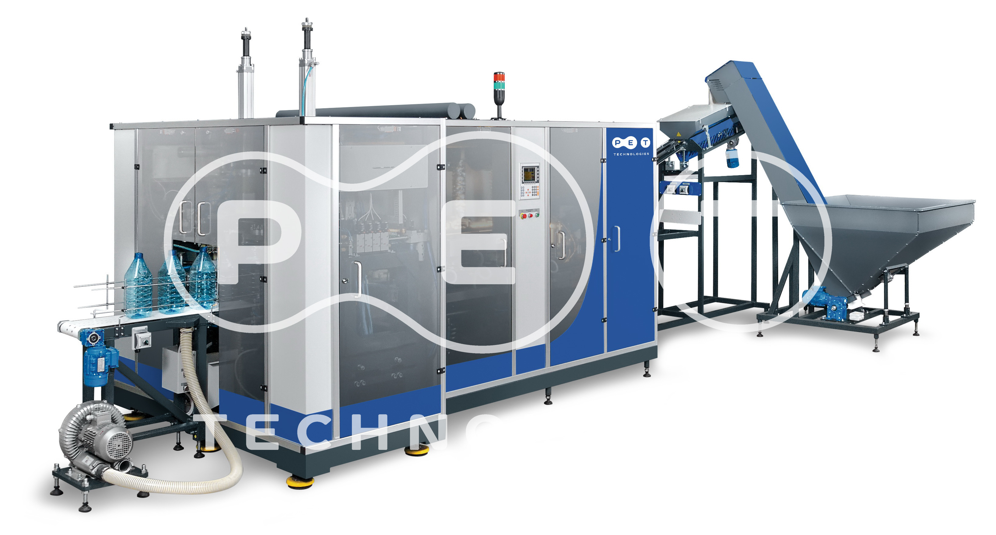 Automatic blow molding machine for large bottles production APF-5 image