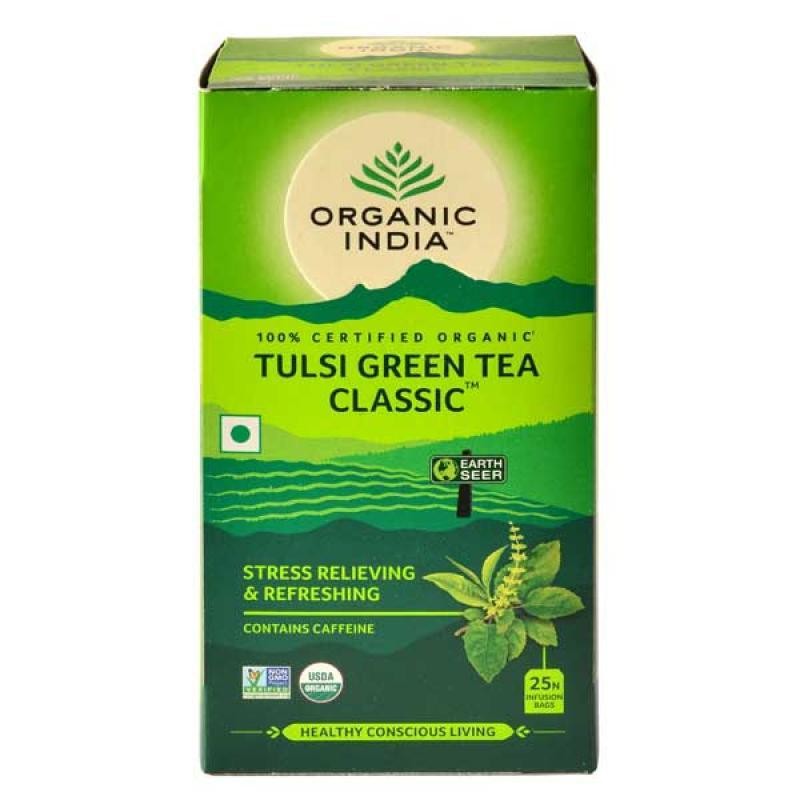 Tulsi Green Tea Classic 25 Tea Bags image
