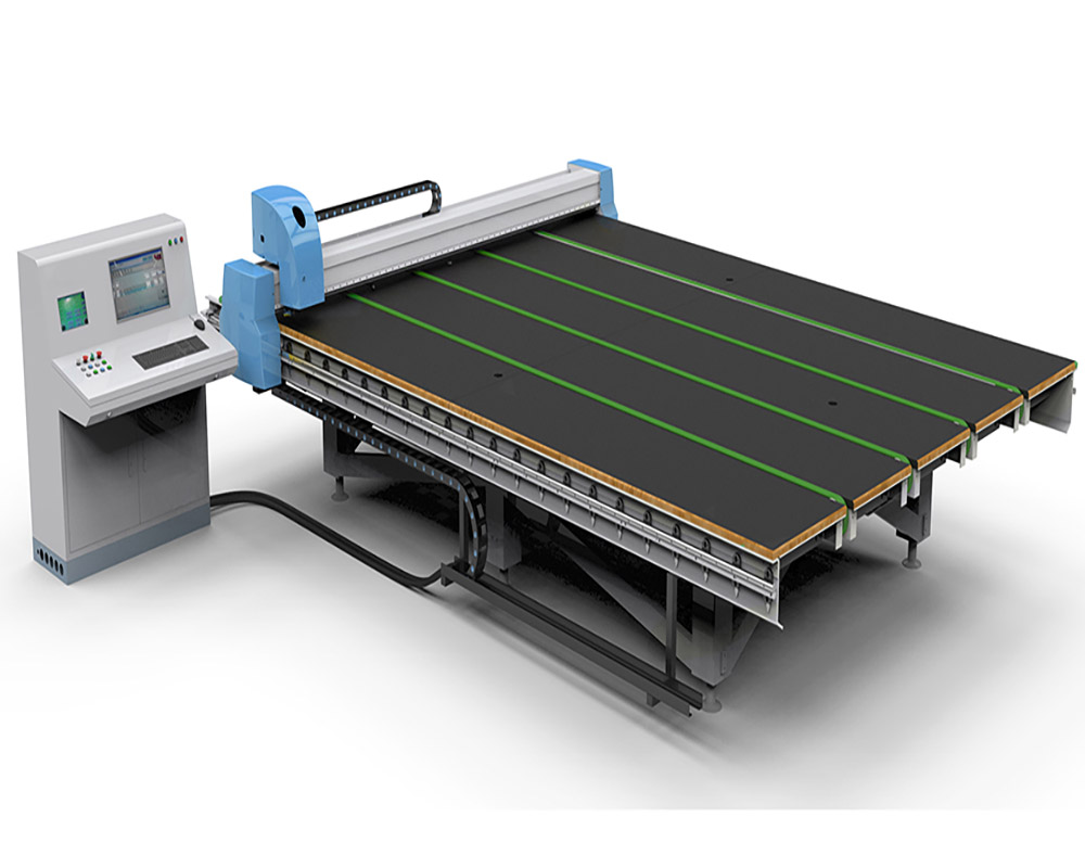 cnc automatic glass cutting table image