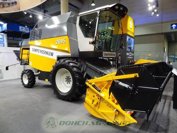 Sampo Rosenlew SR 2045 Agricultural Combine Harvester image