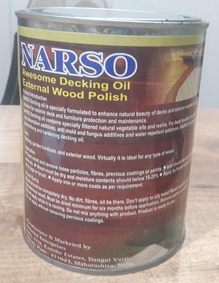 Wood Decking Oil Exterior Grade image