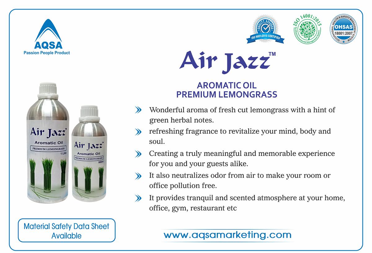 Premium Lemongrass - Air Jazz - Aromatic Oil image