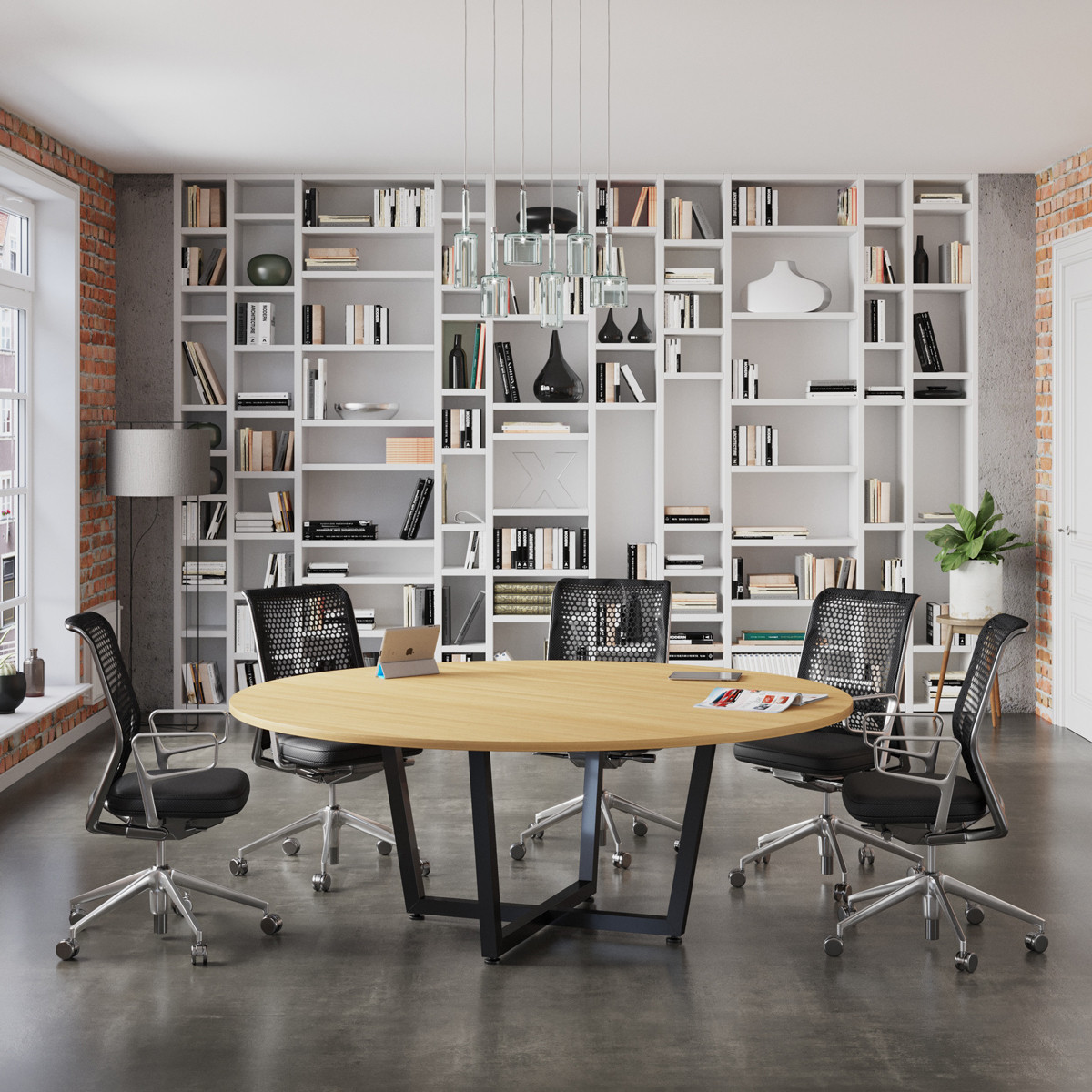 Conference table D-2000 Loft design image