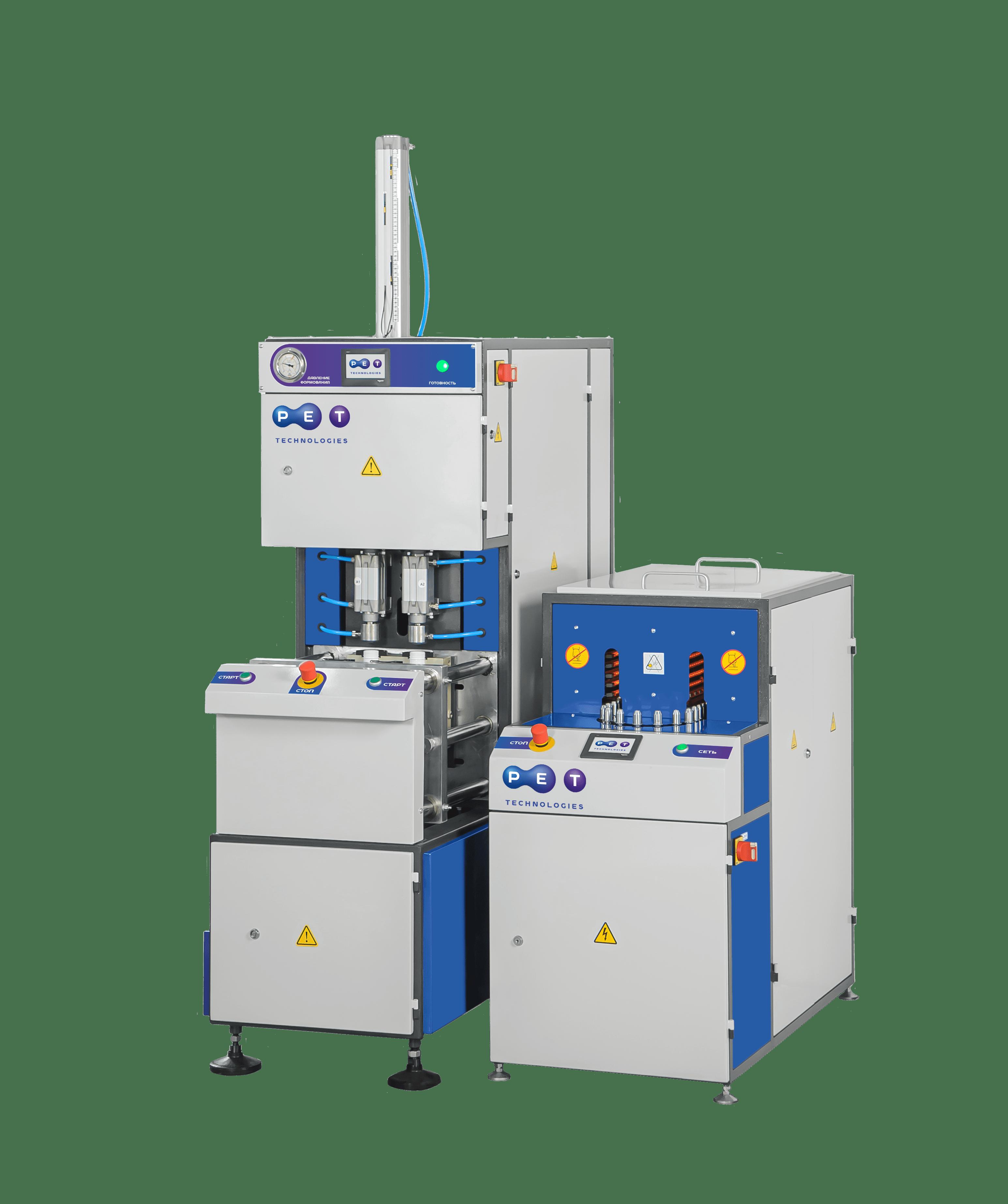 Semi-automatic blow molding machine UPF-5 image