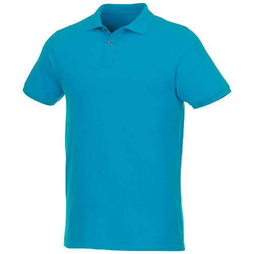 Men's Recycled organic polo shirt with short sleeves image