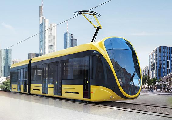 K-1T206 City Tramcar, 100% Low Floor image