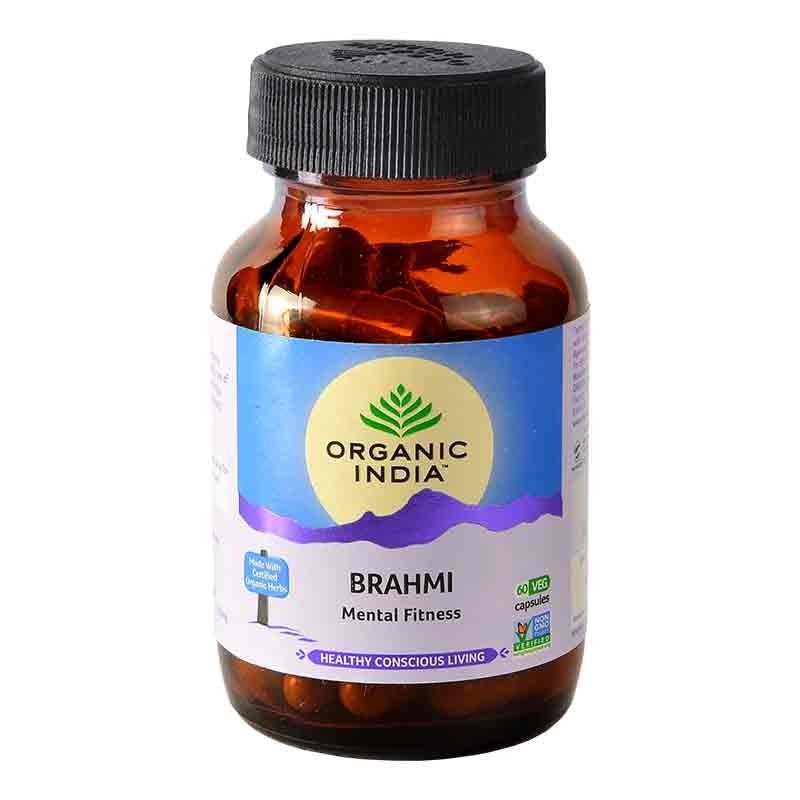 Brahmi 60 Capsules Bottle image