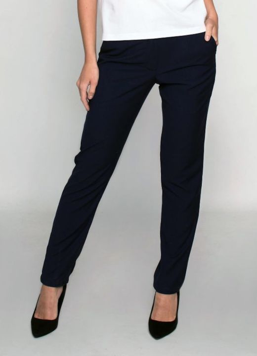 GANVERI Women's Trousers, Dark Blue image