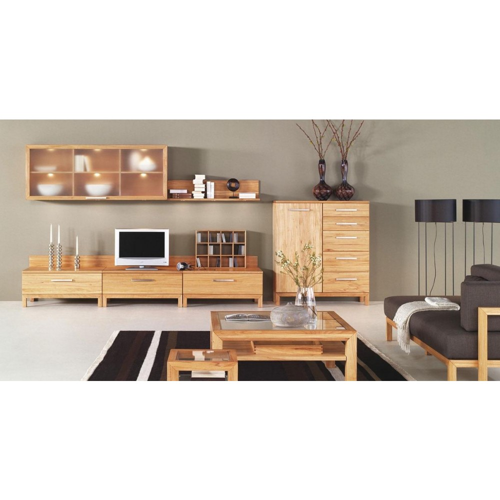 Avanti Natural Solid Oak Living Room Set image
