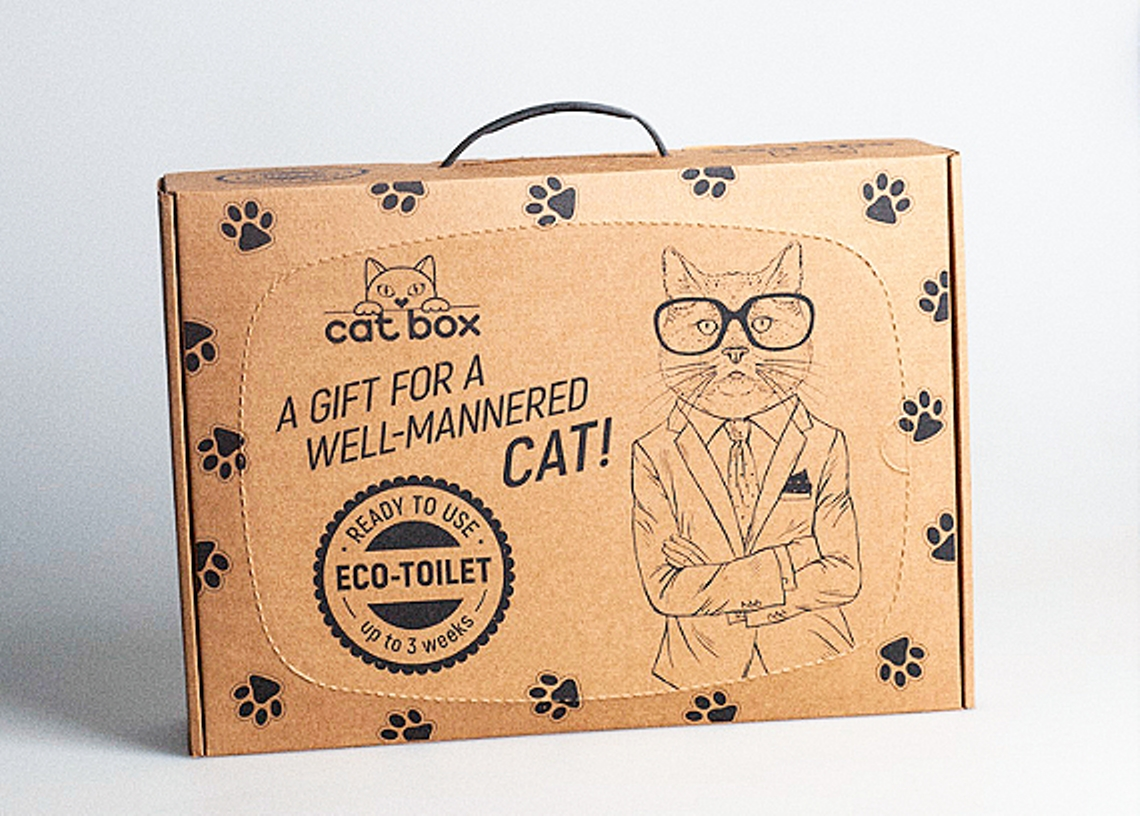 Eco-toilet for cats «Cat Box» image