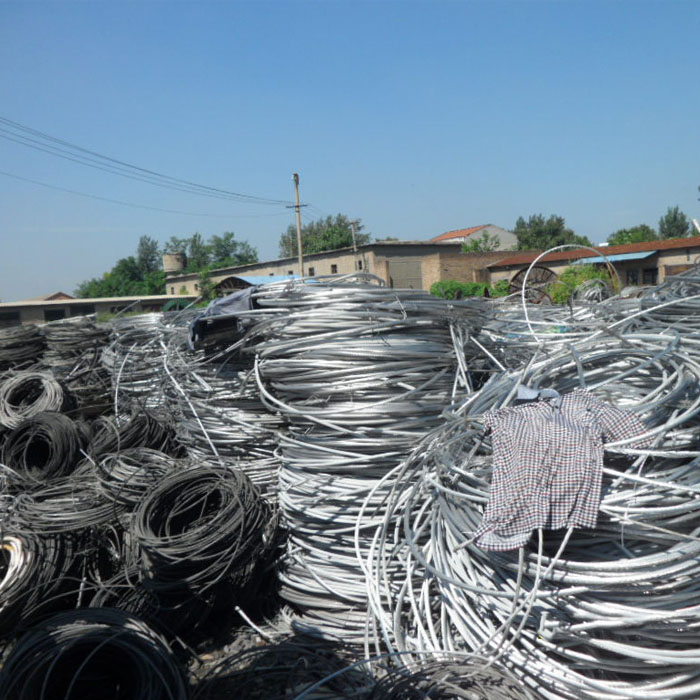 Aluminum wire scrap image