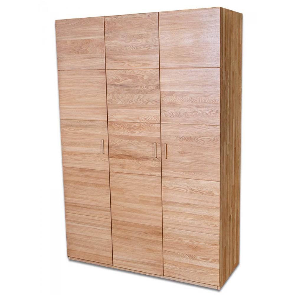 Anna Natural Solid Oak Wardrobe image