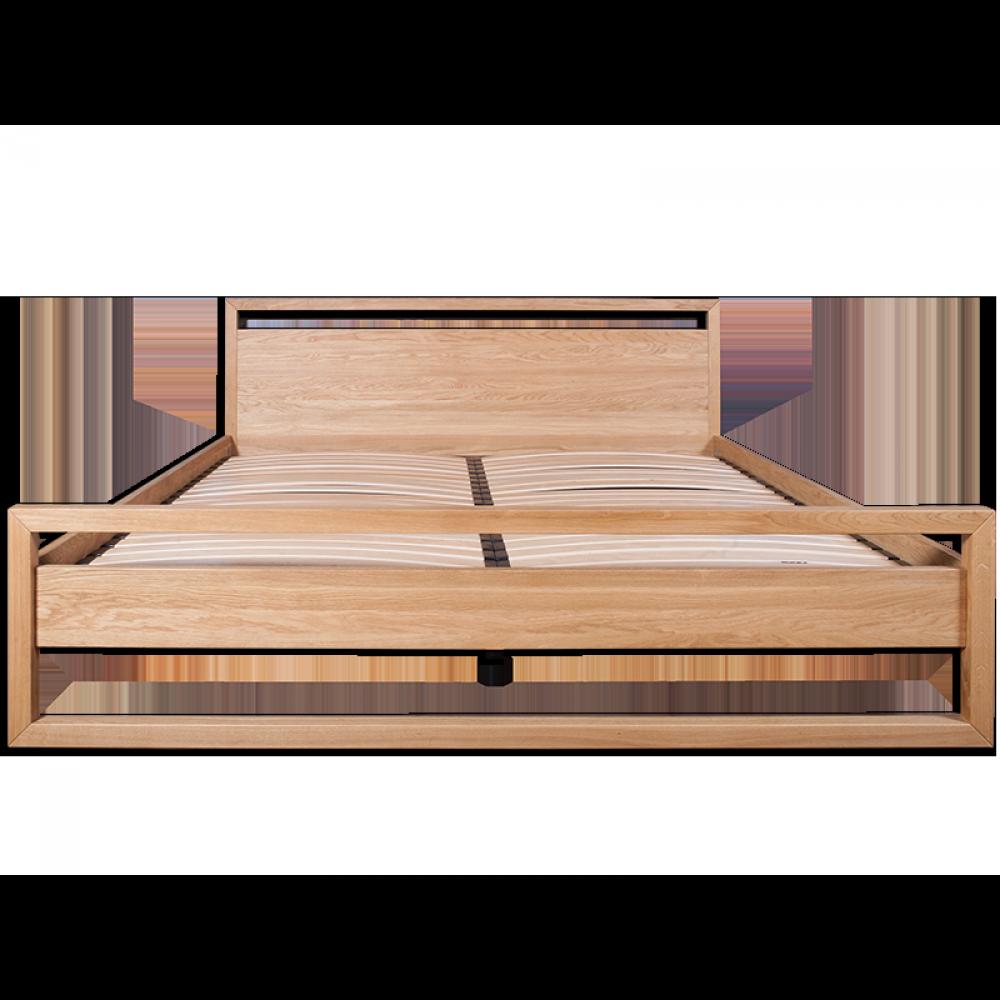 Anna Natural Solid Oak Bed image