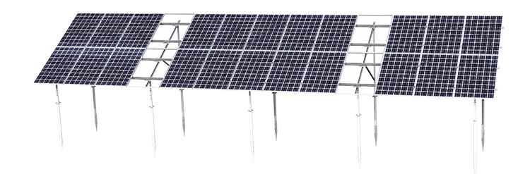 Kripter Domino Solar Panel Mounting System, Ground-Based, Modular image