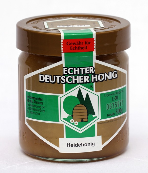 Heath pressed honey image