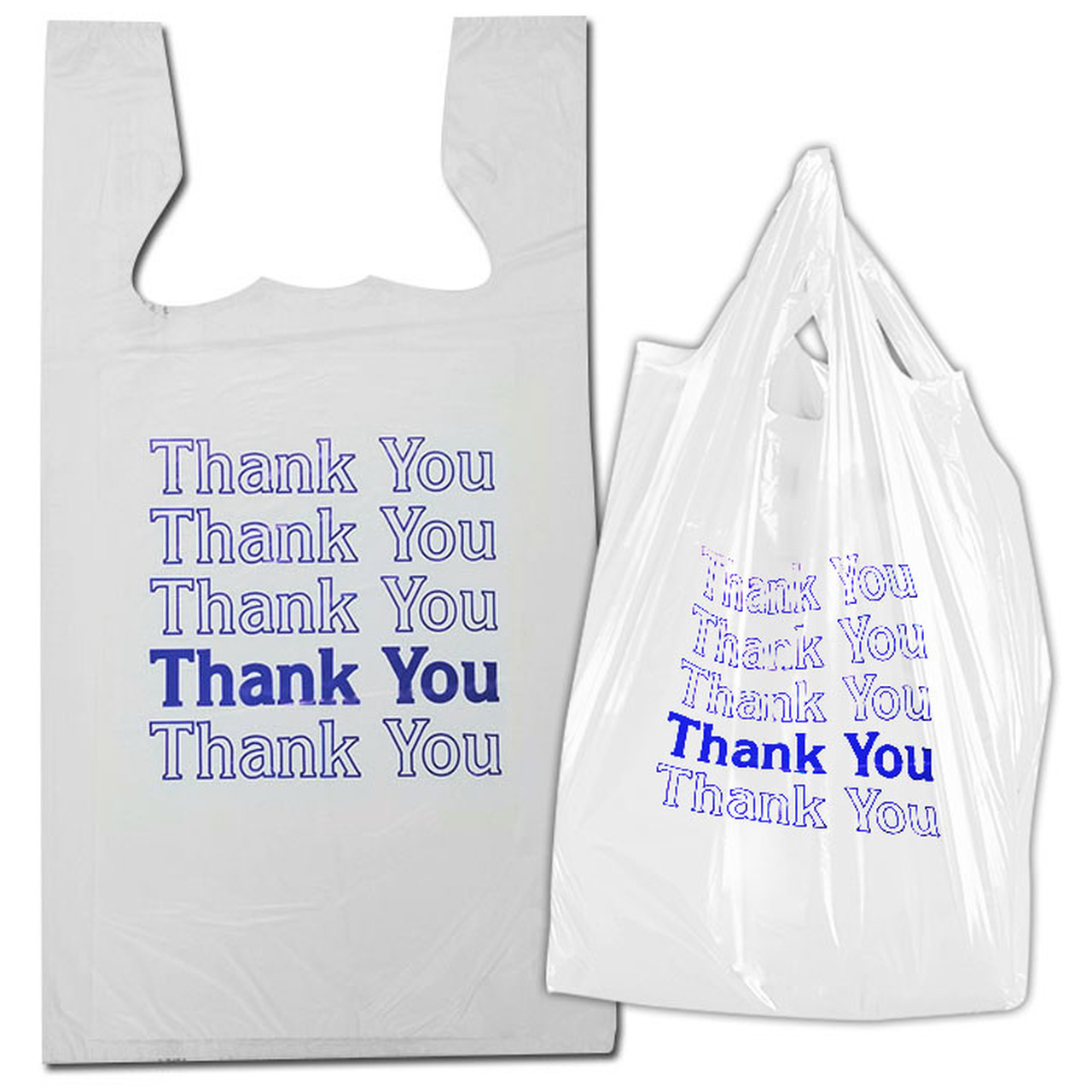 Competitive price 100% virgin Disposable Plastic Vest T-Shirt Bag on Roll For Shopping Hanpak JSC image