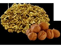 Walnuts, shelled, quarters image