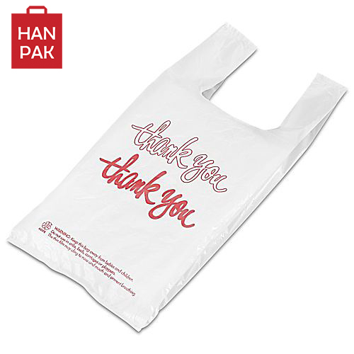T-shirt bag Vest carrier bag image