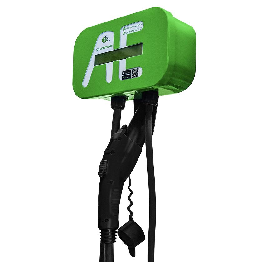 "Charging station ""Single"" /Home/ 5-80 amp EVSE Type 1 /J1772/ or Type 2 /Mennekes/ image"